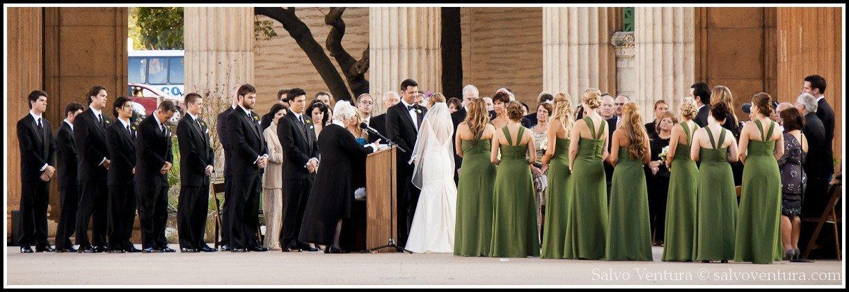 Wedding at the San Francisco Exploratorium