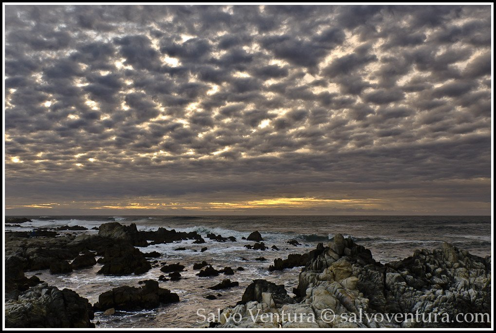 Dramatic sky in Monterey