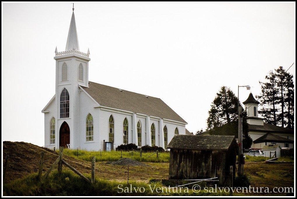 St Theresa Church - Bodega - CA