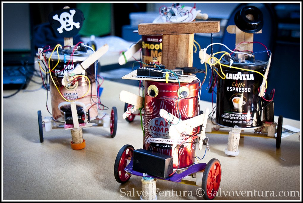 Coffee-bot - 2012 East Bay Makerfaire