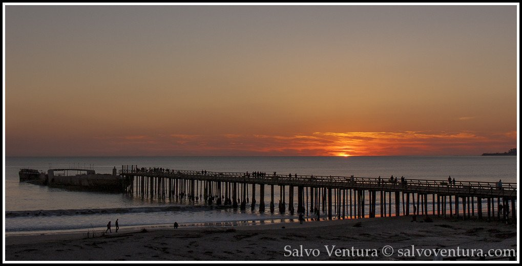 Sunset in Aptos
