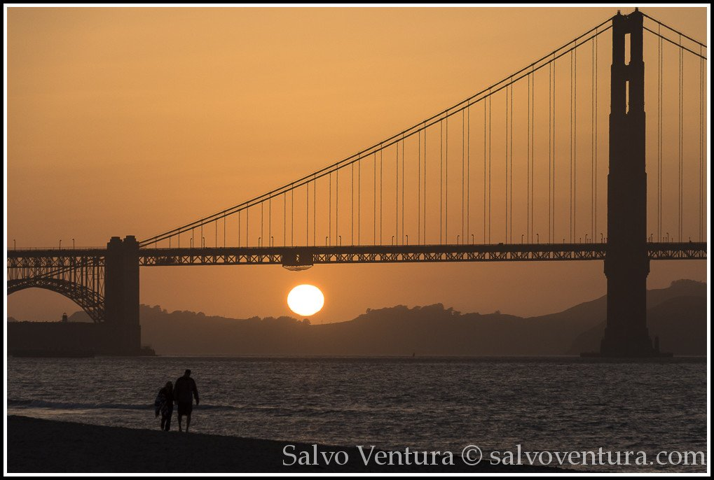 Sunset by the Golden Gate