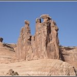 The Three Gossips - salvo ventura, Arches National Park, Moab, UT