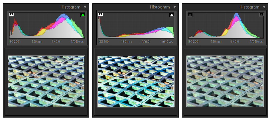 understanding image properties contrast compare