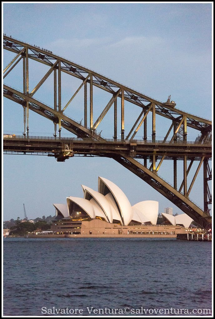 2016 March - Opera House and Harbour Bridge, Sydney, Victoria - Australia
