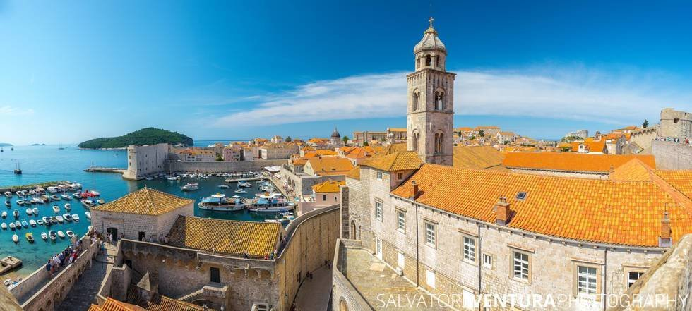 Dubrovnik, Croatia - View from the walls