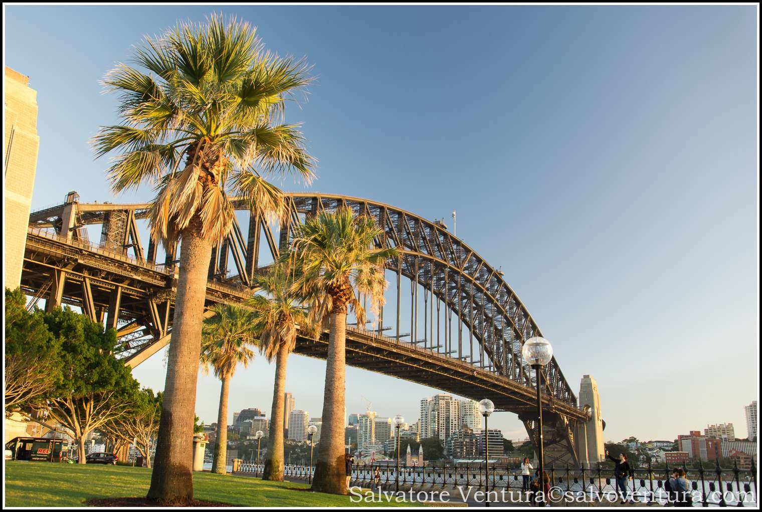 2016 March Sydney Harbour Bridge, Australia