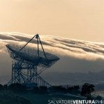 Stanford Dish in the clouds - Salvatore Ventura Ph[o]tography