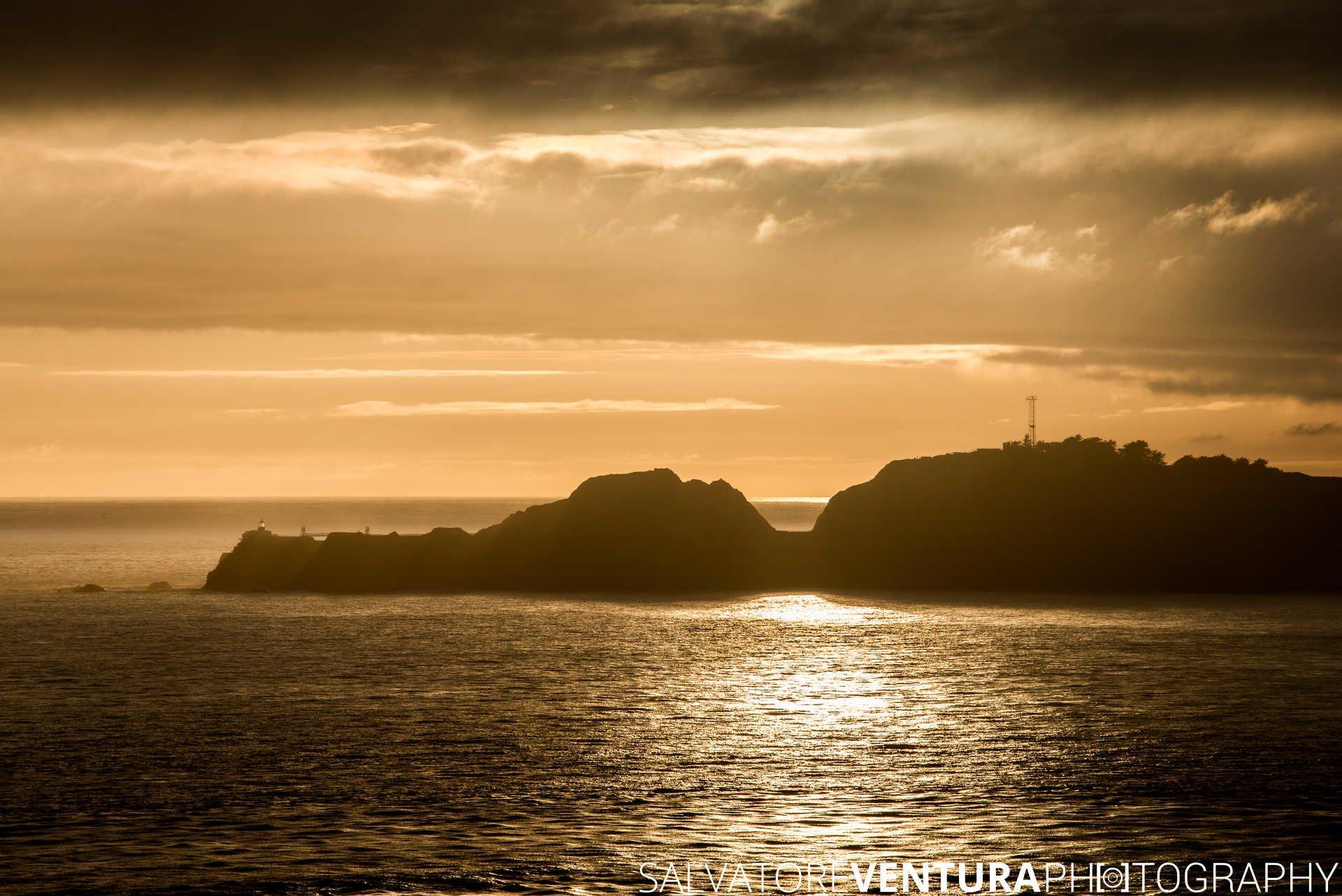 Point Bonita Lighthouse at Sunset - Salvatore Ventura Ph[o]tography