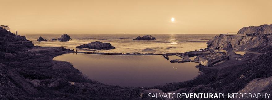 Salvatore Ventura - 2018 Lunar Eclipse - Sutro Baths