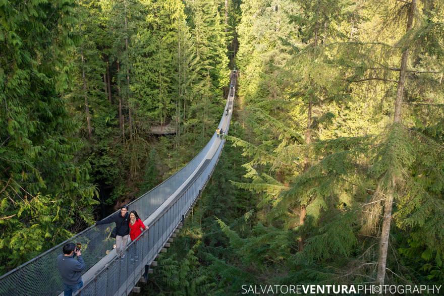 Vancouver, Capilano Bridge