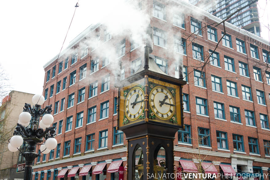 Vancouver, Steam Clock, Gastown