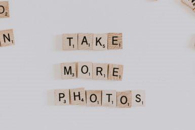 Take more photos - Priscilla Du Preez, via Unsplash