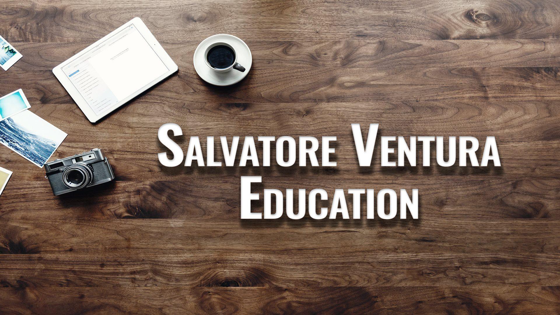 Salvatore Ventura Education