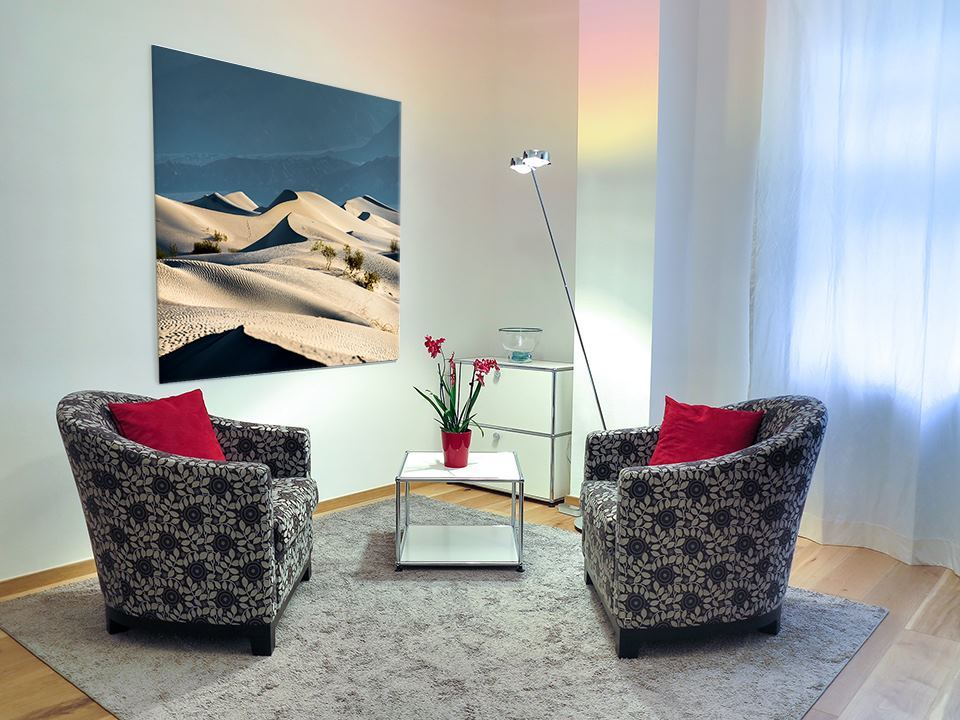 Death Valley Dunes in Apartment Decor