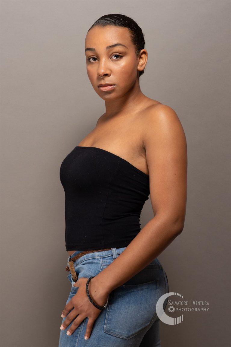 Model portfolio woman